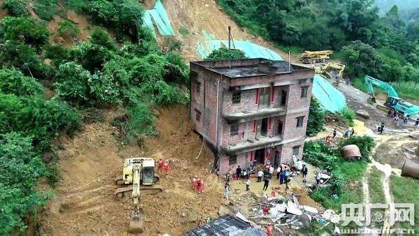 阳江滑坡致6人死亡 未来广东多雷雨高考期间天气闷热
