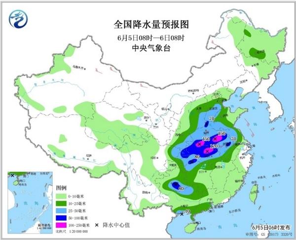 【湖北安徽】等地大暴雨来袭 北方高温熄火