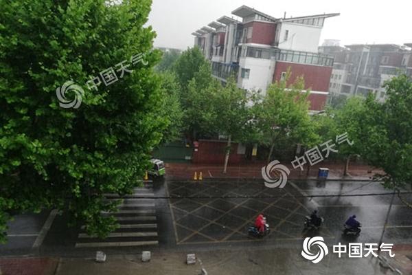 山东今明天较强降雨浇灭高温 高考首日天公作美