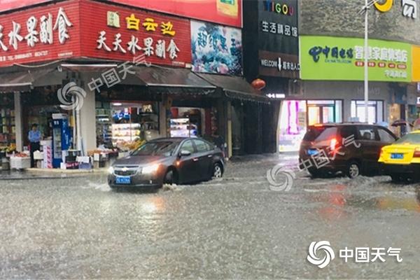 强降雨区今日东移 河南山东江苏等地将有大暴雨