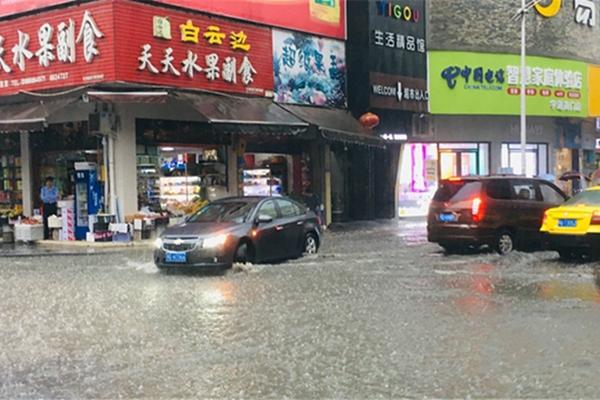 强降雨区东移 江苏湖南等地将有大暴雨