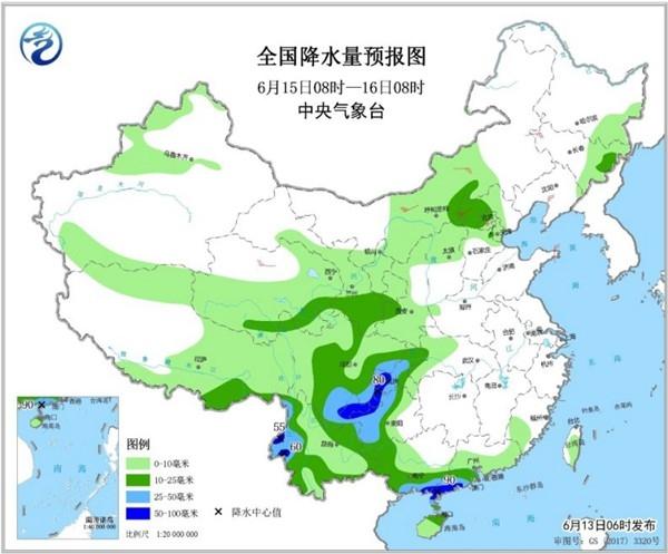 南方强降雨明起减弱 黄淮等地高温来袭