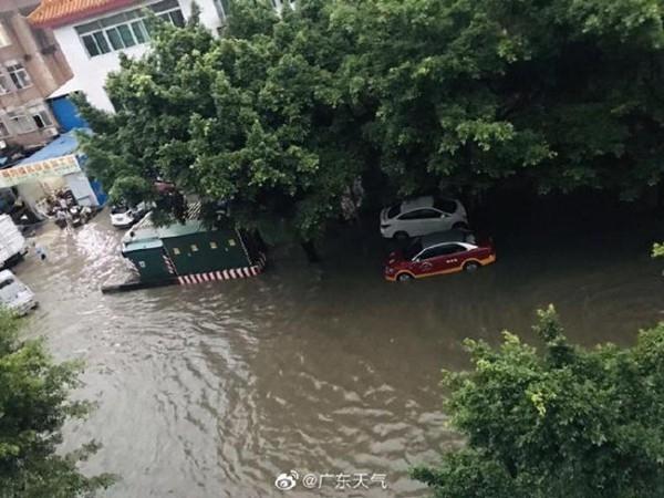广东珠三角等局地今有大暴雨 明后天雨水盘踞茂名湛江