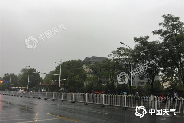 江苏迎来入梅后第二场强降水 南京等地雨量可达暴雨