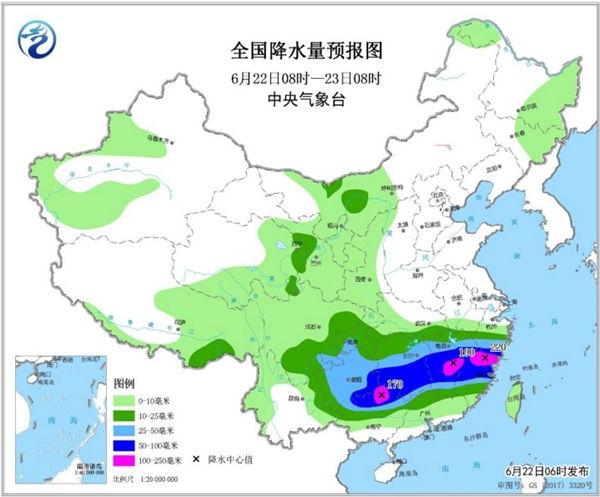 周末南方暴雨持续 北方高温范围扩大