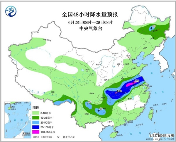 """强降雨""""又双叒叕""""来 11省区市有大到暴雨"""
