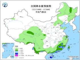 熱帶低壓華南沿海制造強風雨 華北黃淮高溫持續