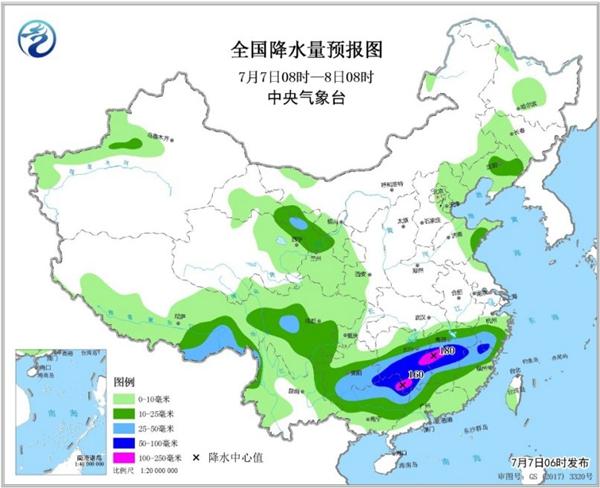 南方新一轮强降雨开启 湖南江西广西局地有大暴雨