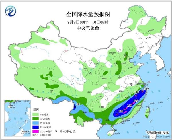 南方暴雨区域叠加致灾性强 华北东北强对流活动终减弱