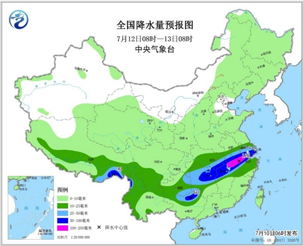 江南正经历今年以来最多雨的一周 东北警惕局地强对流