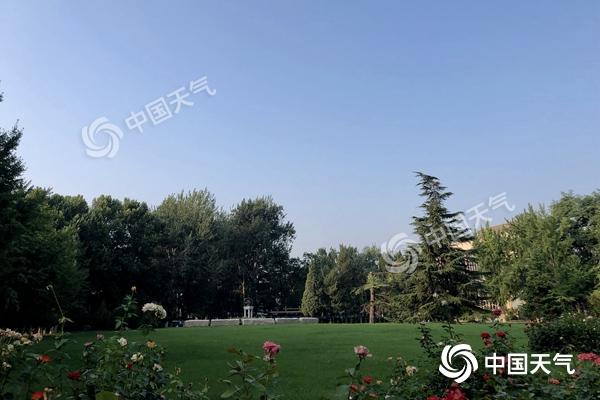 北京今日入伏最高世界杯手机投注网站33℃ 周末闷热持续