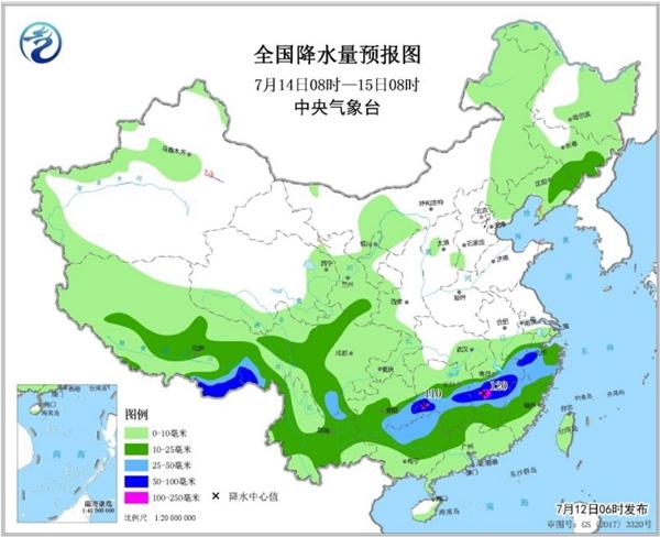 南方两轮强降雨无缝衔接 叠加降雨增加致灾风险