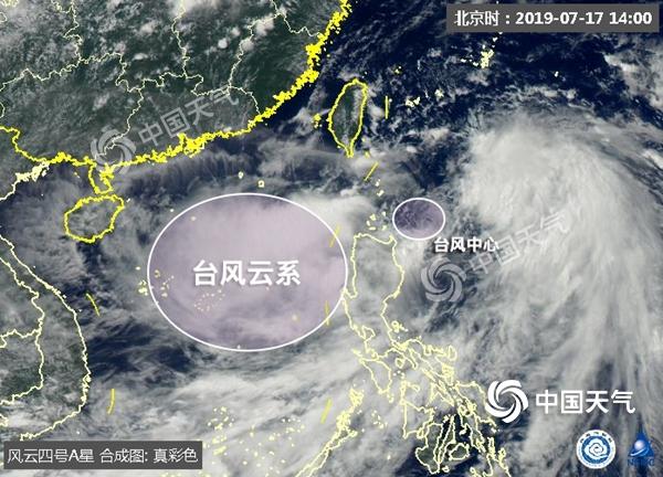 """台风""""丹娜丝""""上演悬疑大戏 登陆点存疑 风雨影响明确"""