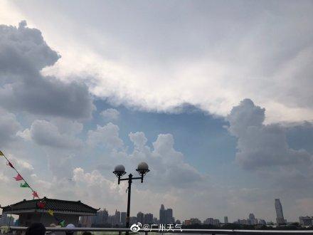 炎热未退雷雨又来 广东粤北粤东珠三角今日局地有暴雨