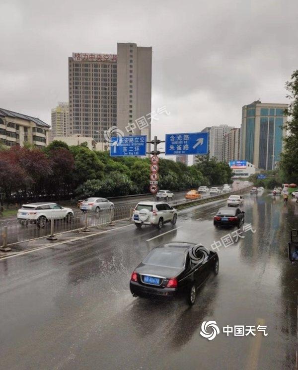 陕西降雨持续在线 榆林汉中等地局地有大到暴雨