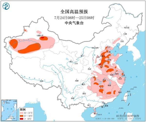 高温蔓延全国16省市区【四川云南】等地进入多雨期