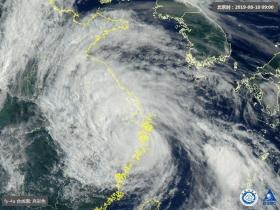 """""""利奇馬""""已減弱為強熱帶風暴 未來5天仍將影響10余省"""