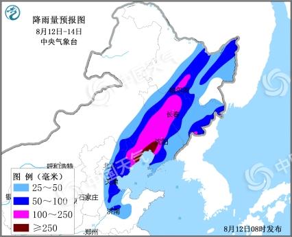 双台风影响恐致降水叠加 吉林中部雨量或破极值
