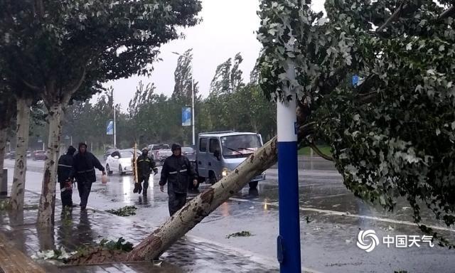 台风冷空气共同影响 辽宁大范围大到暴雨还要再下两天