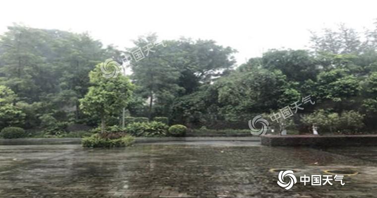 广东粤西珠江角地区局地暴雨