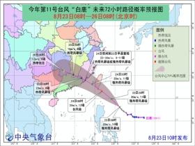 """台风预警升级至黄色!周末""""白鹿""""将携风雨袭华南"""