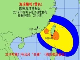 海浪黄色警报 福建广东东部近岸海域将现大浪到巨浪