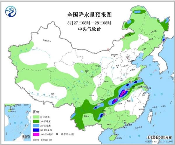 西北东北有明显降雨 重庆等高温持续
