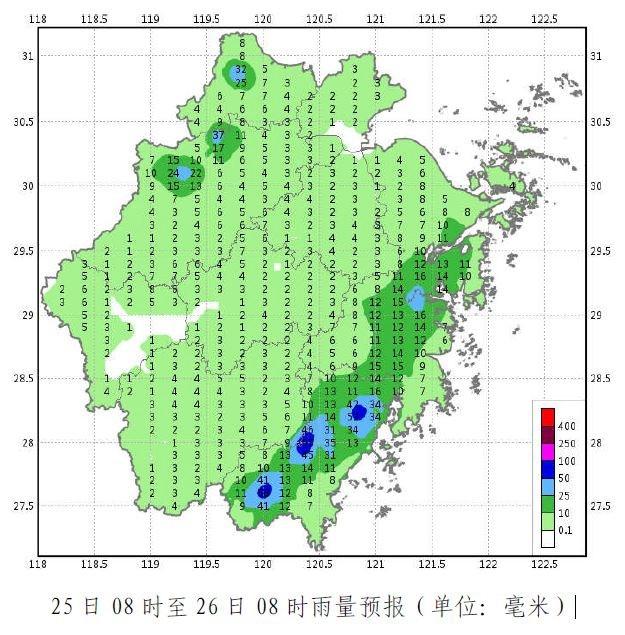 浙江沿海今日仍有雷雨 明起大部高温来袭