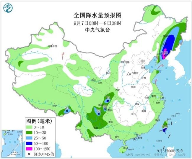 """华东东北台风雨将至 """"秋老虎""""南北出击"""