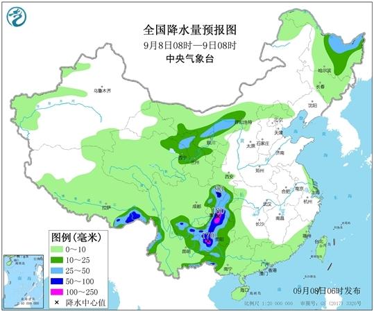 川陕甘等【5省】有暴雨 南方下周秋老虎逞威