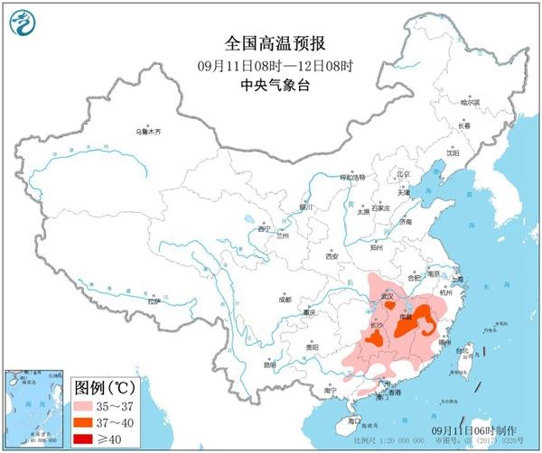 """气温北凉南热分两季 四川盆地强降雨""""天天见"""""""