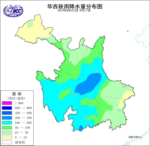 专家解析:今年华西大部降水偏多 渭水汉水需防秋汛