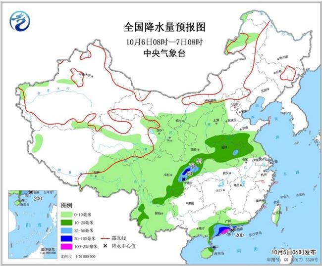 今日江南多地加入降温行列 西南地区雨水不断