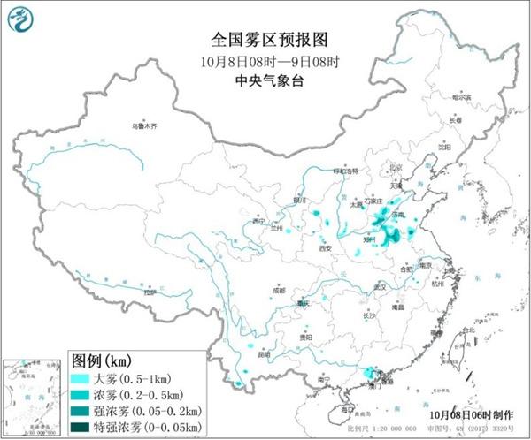 冷空气频繁影响中东部地区 华西秋雨未来还将持续