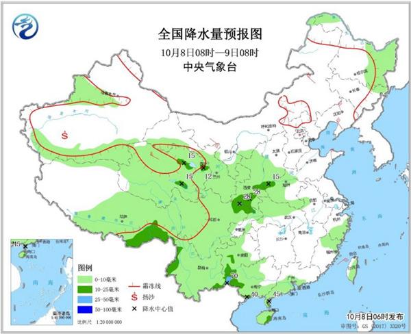 冷空氣頻繁影響中東部地區 華西秋雨未來還將持續
