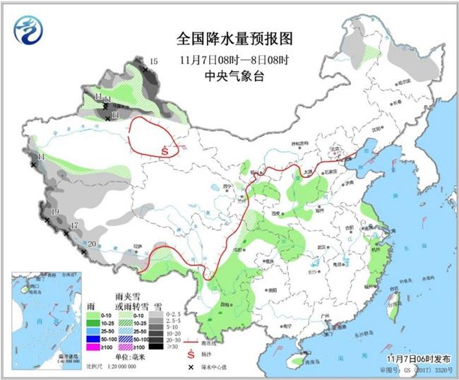 冷空气接连袭北方 西北华北将迎雨雪