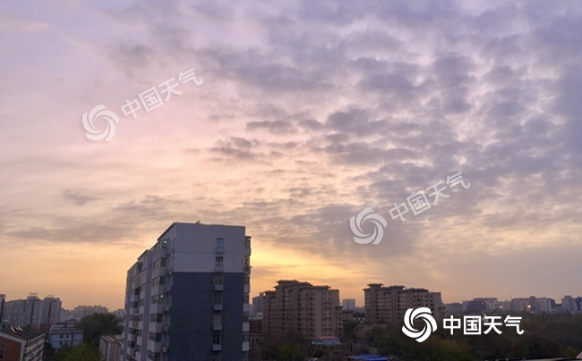 """北京晴朗回温至周末 下周一气温再""""跳水"""""""