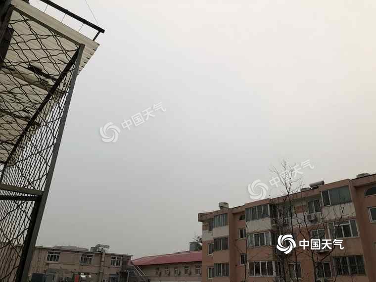 阵风8级!北京今日北风劲吹气温降