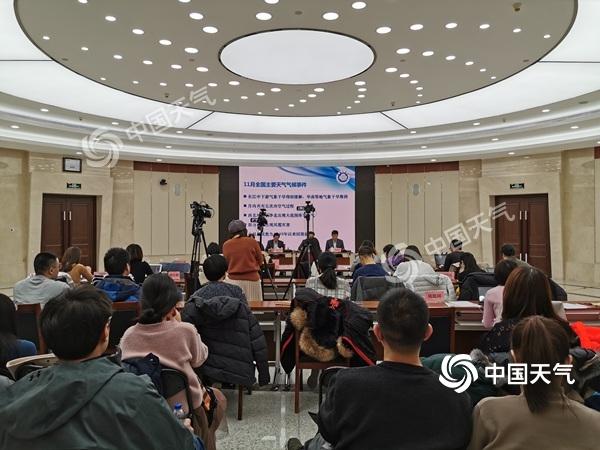 中国气象局:未来十天我国冷空气频繁但势力减弱 内蒙古东北有降雪