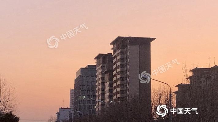 今晨北京零下7.2℃创气温新低 未来几天持续晴冷