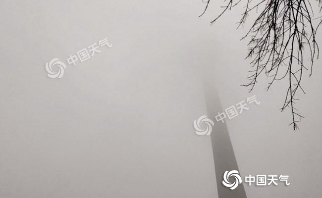 我国三分之二国土无降水 黄淮至长江中下游雾和霾天气发展