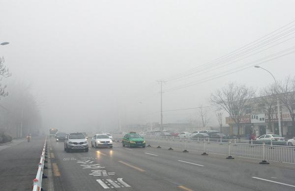 """华北黄淮雾和霾反复""""发作"""" 南方阴雨寡照持续阴冷"""