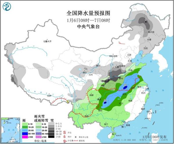 今冬最强雨雪今日持续 小寒江南暖如初春
