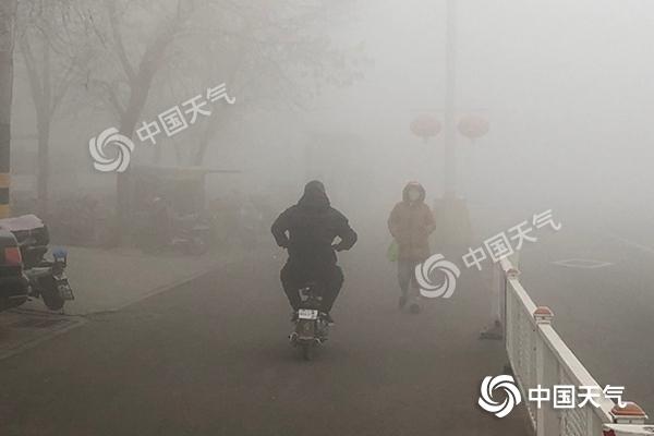 雨雪波及【20余】省份 华北等地霾发展