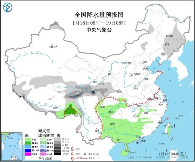 长江中下游等地阴冷在线 华北黄淮霾持续