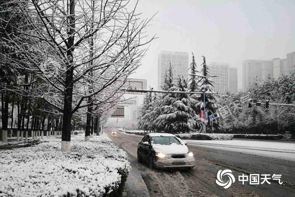 南方雨势减弱 河南安徽或遭强降雪