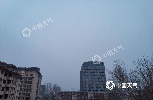 今明天北京阴天为主