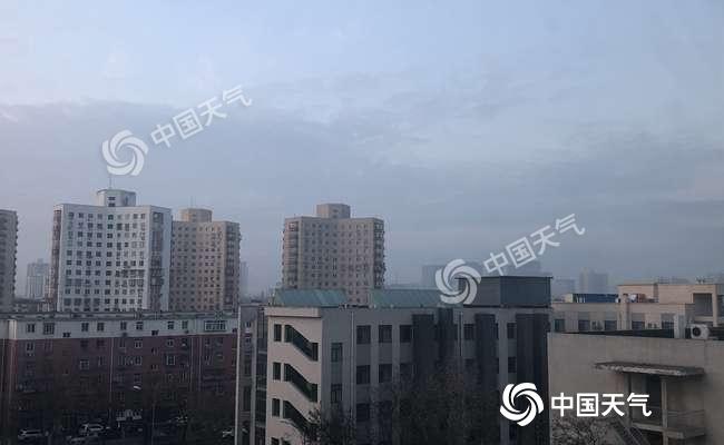 今天北京仍有霾 本周末冷空气造访北风呼啸气温降