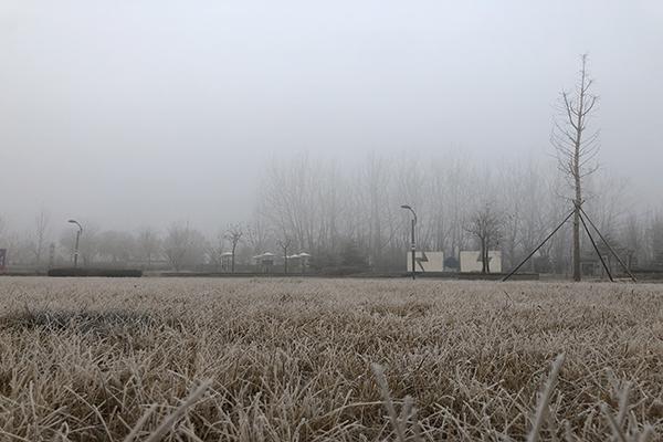 华北黄淮今天仍有霾 南方明起迎新一轮降水