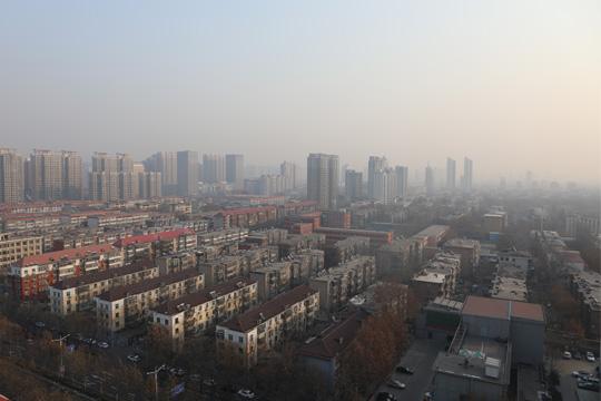 全國大部開啟升溫模式 華北黃淮霧和霾發展